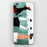 Three Marlenas iPhone & iPod Skin