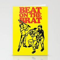 Beat on the Brat Stationery Cards