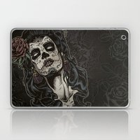 Day of The Dead Woman Laptop & iPad Skin