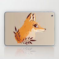 Fox Familiar Laptop & iPad Skin