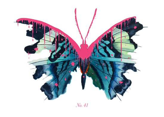 No. 41 Art Print
