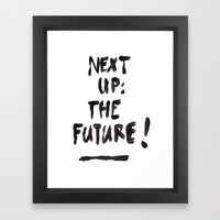 The Future Framed Art Print