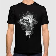 I Am Heretic Mens Fitted Tee Black SMALL