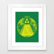 Masonic Link  Framed Art Print