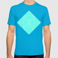 Radiate (Mint) Mens Fitted Tee Teal SMALL