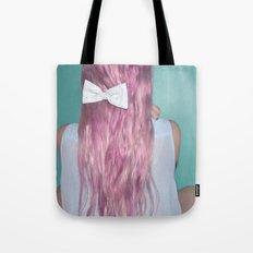 Nebula Girl Tote Bag