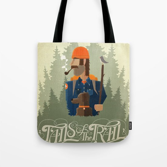 Tails of the Trail Tote Bag