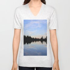 Salmon Lake Unisex V-Neck