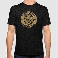 Lion Tee Mens Fitted Tee Tri-Black SMALL