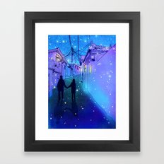 Every day with you Framed Art Print