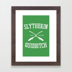 Hogwarts Quidditch Team:… Framed Art Print