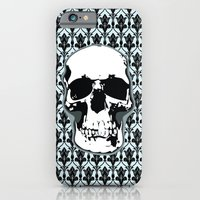 Skull Print iPhone 6 Slim Case