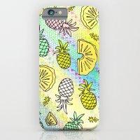 Pineapple Mix #2 iPhone 6 Slim Case