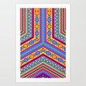 Arrow - Pattern Art Print