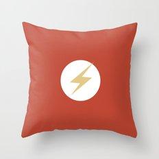 The Flash Vector Logo Throw Pillow