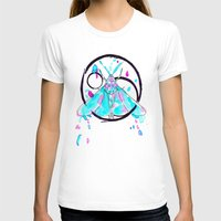 Dust Out Womens Fitted Tee White SMALL
