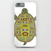 Tiled turtle iPhone 6 Slim Case