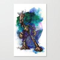 I AM G Canvas Print