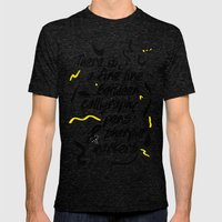Good Point Mens Fitted Tee Tri-Black SMALL