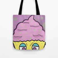 Cupcake Monster!  Tote Bag