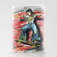 Bust A Move Stationery Cards