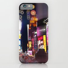 Times Square Blurrr-Bokeh iPhone 6 Slim Case