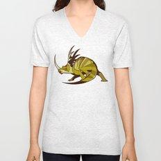 Styracosaurus Unisex V-Neck