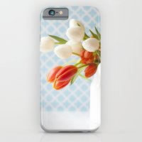 iPhone & iPod Case featuring Glimmer of Spring  - Tulips  by Jean Ladzinski