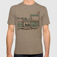octopus architecture Mens Fitted Tee Tri-Coffee SMALL