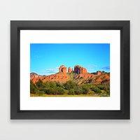 Cathedral Rock Sedona Arizona Framed Art Print