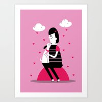 Love At First Sight Art Print