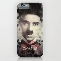 iPhone & iPod Case featuring Charlie Chaplin by Mahdi Chowdhury