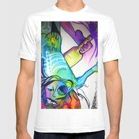 Hang In There Mens Fitted Tee White SMALL