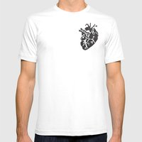Only Love Mens Fitted Tee White SMALL
