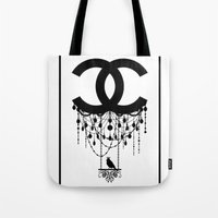 Coco Chandelier Tote Bag
