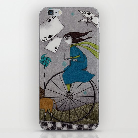 I Follow the Wind iPhone & iPod Skin
