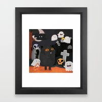 Halloween! Framed Art Print