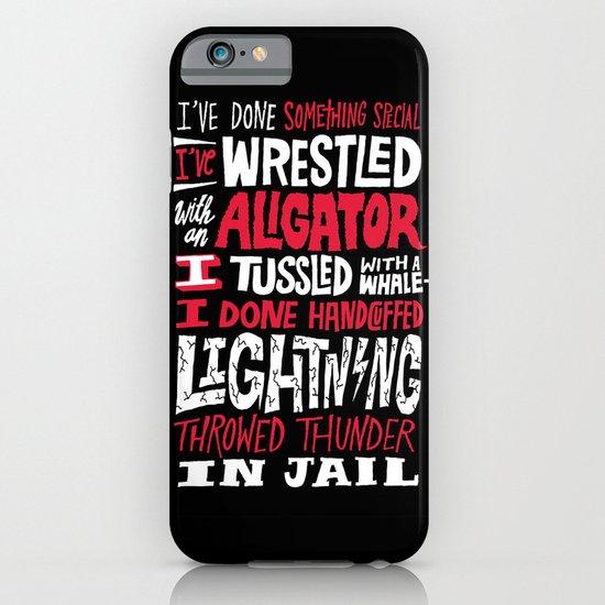 Muhammad Ali: Aligator iPhone & iPod Case