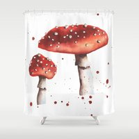 Fly Agaric, Magic Mushro… Shower Curtain