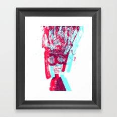 poetrait3 Framed Art Print