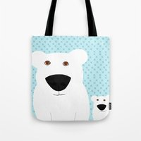 Winter - Polar Bear 2 Tote Bag
