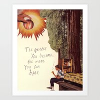 Inner Awareness  Art Print
