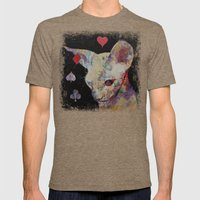 Cat Lover Mens Fitted Tee Tri-Coffee SMALL