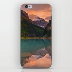 Autumn in Lake Louise iPhone & iPod Skin
