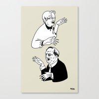 Insanitoosi Canvas Print