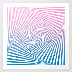 Barika Summer Twista Art Print