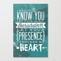 Know You Canvas Print