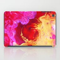 Abstract Painting Red Go… iPad Case