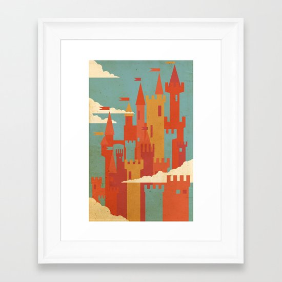 Castles  Framed Art Print