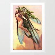QueenBee Art Print